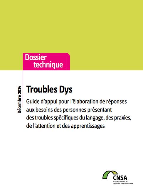 Guide pour les DYS dans les MDPH