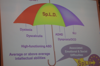 SpLD specific learning disabilities