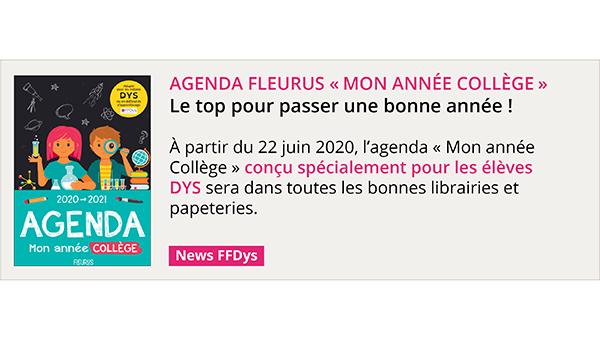 AGENDA FLEURUS «Mon année collège» Le top pour passer une bonne année !
