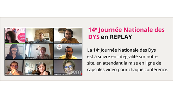 14e Journée nationale des Dys en replay sur FFDys.com !