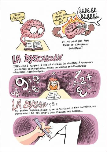 BD de Christopher Boyd - La Dyscalculie et Dysgraphie