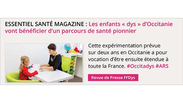 Les enfants « dys » d'Occitanie vont bénéficier d'un parcours de santé pionnier