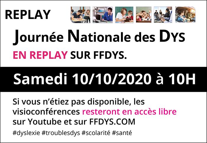 Suivez la 14e Journée Nationale des #Dys en replay sur FFDys.Com