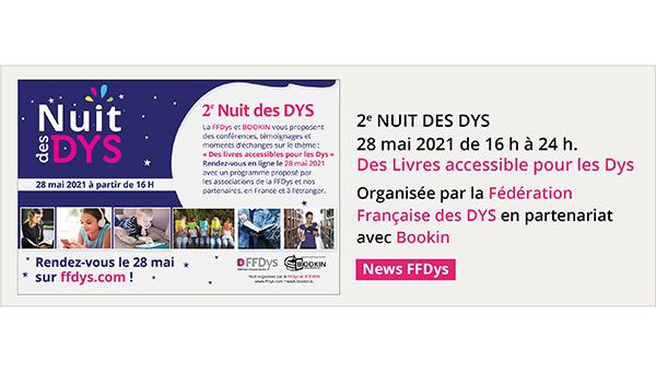 2e Nuit des Dys - Des Livres accessible pour les Dys - 28 mai 2021 Small